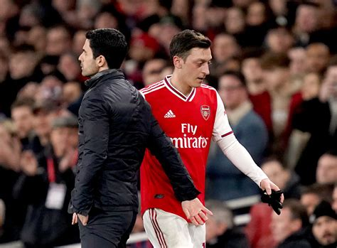 Mikel Arteta content with decision to freeze out Mesut ...
