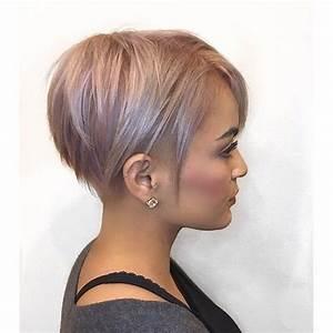 Coiffure Simple Femme : coupes courtes tendance 2018 coupe courte tendance coiffures simples et simple ~ Melissatoandfro.com Idées de Décoration