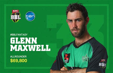 bbl fantasy guide melbourne stars cricketcomau