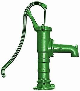 Handpumpe Wasser Garten Schwengelpumpe Rundflansch Gartenpumpe