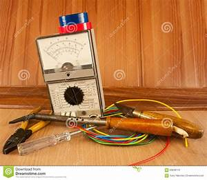 Electrician Tool Master Stock Photo  Image Of Electric