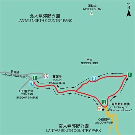 lantau island hiking trails china mike