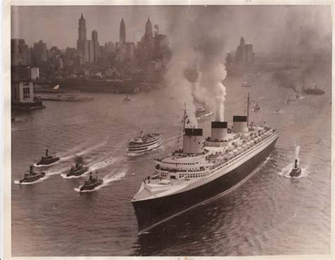 1939 Last Voyage Of The Legendary SS NORMANDIE ...