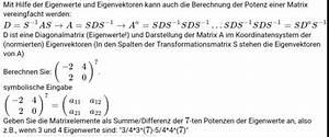 Eigenwerte Einer Matrix Berechnen : berechnung potenz einer matrix vereinfachen mathelounge ~ Themetempest.com Abrechnung