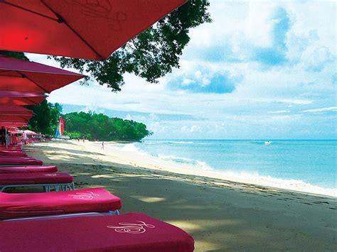 Luxury hotels: The Sandy Lane Resort, Barbados