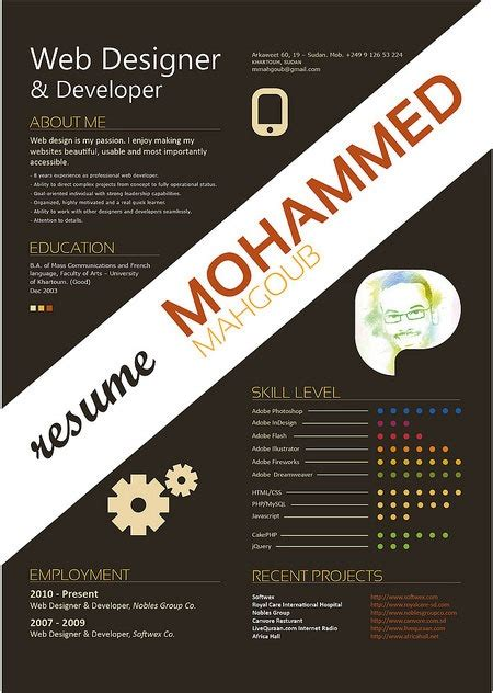 most creative graphic design resumes 20 creative resume designs which will amaze any potential employer creative nerds