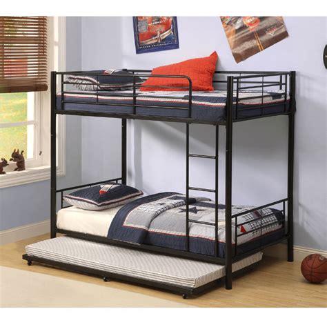 walker edison twin roll  trundle bed frame black bttbbl