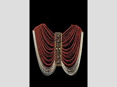 Africa Pre Bridal Beaded Female Corset Dinka tribe