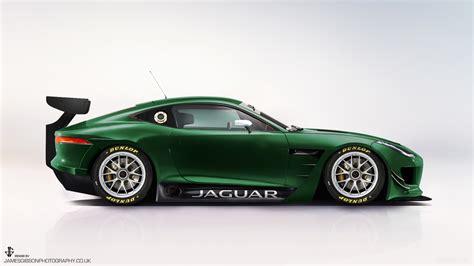 Jaguar F-type Gt3/gte Render