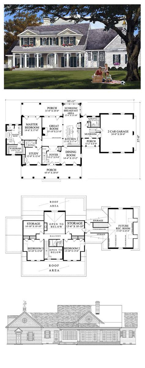 plantation floor plans colonial country house plans home design best plantation
