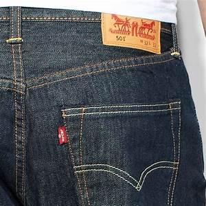 Jean Levis 501 Homme : jean levis 501 originals bleu brut marlon coupe droite ~ Melissatoandfro.com Idées de Décoration