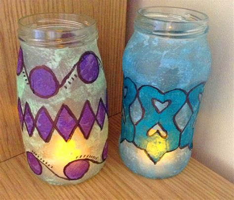 how to make glass l how to make stained glass lanterns hobbycraft blog