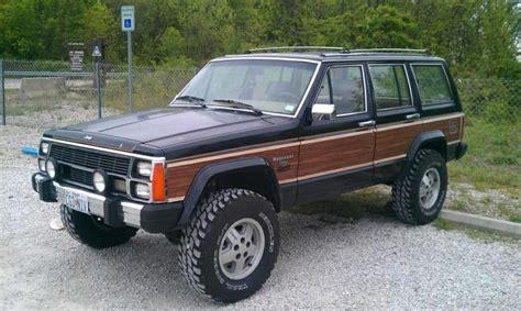 jeep wagoneer lifted lifted jeep xj wagoneer jeeps pinterest vinyls
