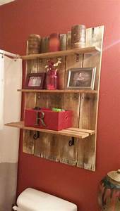 Its Easy to Create Pallet Wood Shelves – Wood Pallet Ideas