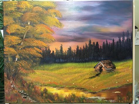 Bob Ross Landscape Painting Class in Ottawa ...