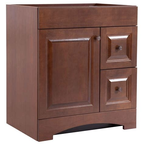 glacier bay bathroom cabinets glacier bay regency 30 in vanity cabinet only in auburn