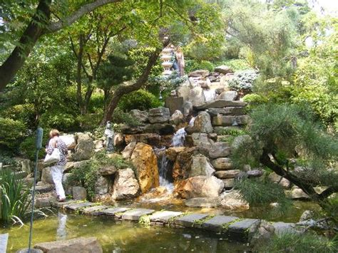 the japanese garden on the garden walking tour picture