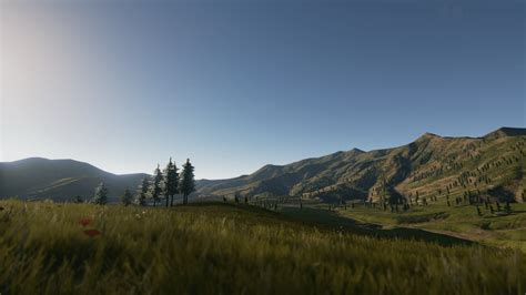photorealistic background mountains pack unreal engine