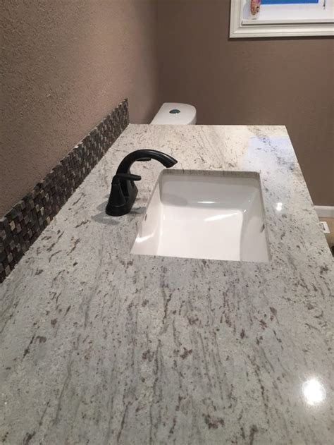 how much is granite countertops installed granite countertops installed with much overhang