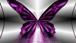 Desktop, Wallpaper, Purple, Butterfly