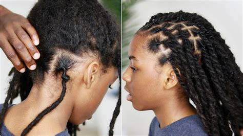 years  matted  growth retwist