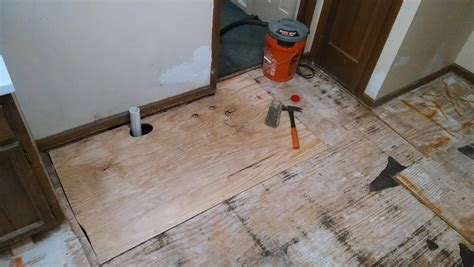 Bathroom subfloors are no different that any other subfloor, with the exception that bathrooms are usually smaller and must be able to withstand the weight of a the amount of time for installation varies with the size of the bathroom, but the jobs shouldn't take any longer than 1 to 3 hours. waterproofing - How do I correctly install ceramic floor ...