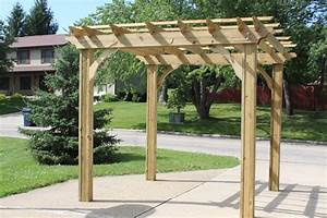Building Our Farm One Pergola At A Time - Old World Garden