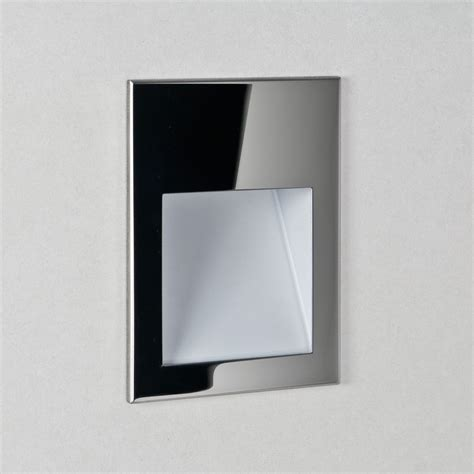 astro borgo 90 2700k polished chrome led wall light at uk