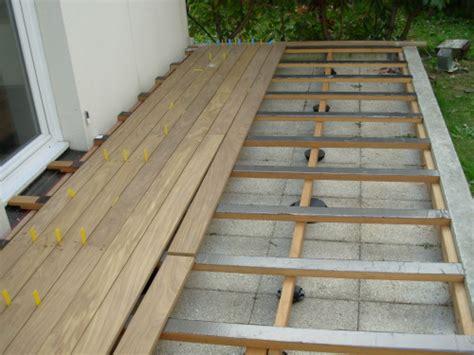 terrasse de bois en cumaru
