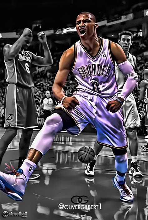 Russell Westbrook 2016 Wallpaper Wallpapersafari