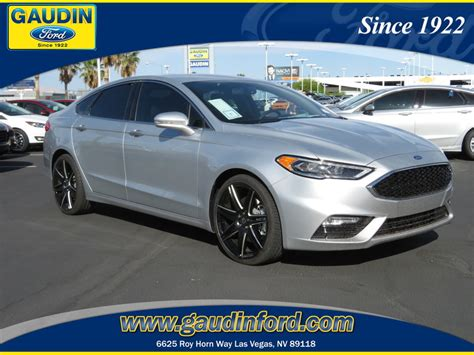 New Ford Fusion Sport by New 2018 Ford Fusion Sport 4d Sedan In Las Vegas 8c0408