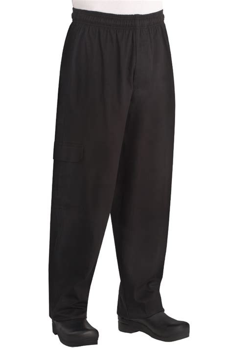 cargo pant black chef works