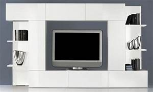 Meuble Tv Accroché Au Mur : meuble tv pour accrocher ecran plat uteyo ~ Preciouscoupons.com Idées de Décoration