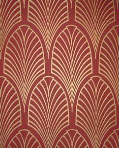 Papier Peint Art Nouveau : wallpaper maza art deco wallpaper ~ Dailycaller-alerts.com Idées de Décoration