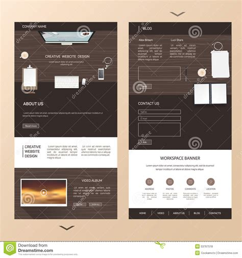 one page flyer template single page brochure templates psd 1 professional