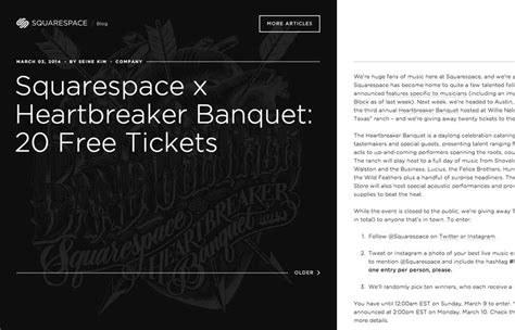 squarespace blog squarespace unmatched style