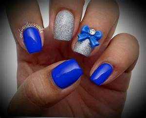 Royal Blue Prom Nail Designs | 2017 - 2018 Best Cars Reviews