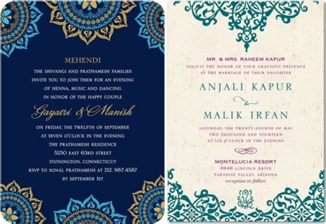 Indian Wedding Invitations On A Budget By Wedding Paper Divas