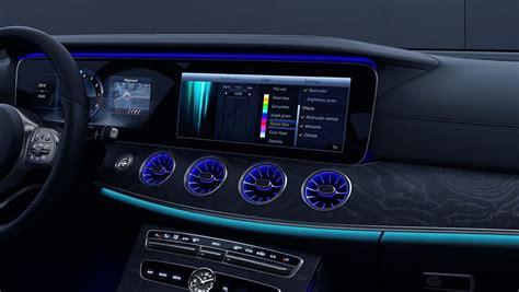 mercedes benz cls  matic coupe interior features