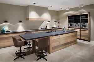 Küche Beton Arbeitsplatte : moderne k che mit beton arbeitsplatte tinello ~ Frokenaadalensverden.com Haus und Dekorationen