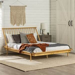 Wood, Queen, Spindle, Bed, Frame