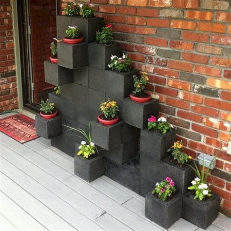 Brilliant Beautiful Cinder Block Ideas For Your