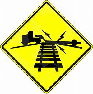 W10-5 Low Ground Clearance Railroad Crossing Sign ...