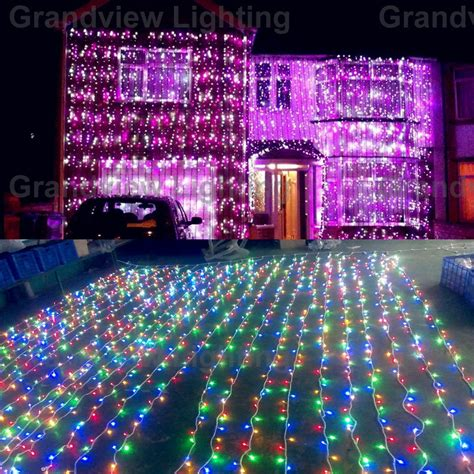 curtain outdoor christmas lights fashionable outdoor safety light curtain christmas