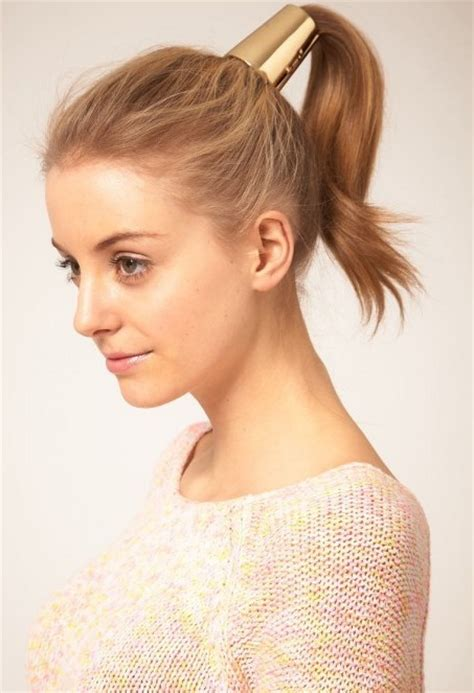 cute ponytail hairstyles woman fashion nicepricesell com