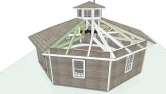 Octagonal Building Plans Photo by Octagon Timber Frame Outbuilding Robert Swinburne