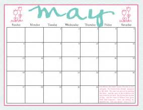 May 2012 Calendar Printable