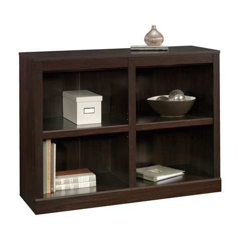 sauder bookcase with sauder 2 shelf bookcase home furniture home office