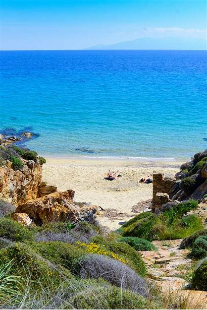 Nudist Beach Beaches Elia Mykonos Voyeur Only