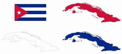 Flag Cuba Map Vector Clip Similar Illustrations